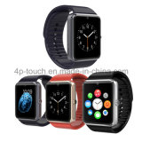 SIMのカードスロットGt08が付いている熱い販売の安いBluetoothのスマートな腕時計の電話