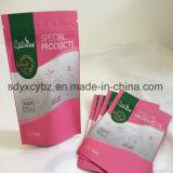 Sachet en plastique de empaquetage comique de nourriture de café en aluminium de thé avec la tirette