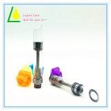 Cartuccia di vetro dello stilo aperto dell'olio del CO2 di Cbd Thc con punta obliqua/livellata del gocciolamento