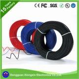 1 Meter-Batterie-Bewegungskabel UL 6 AWG-Lehre 8 10 12 14 16 18 20 22 24 26 28 30 Rotes/Schwarz-flexibler Silikon-Draht