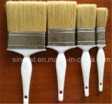 La vernice professionale della vernice spazzola la maniglia di legno naturale della setola nera pura