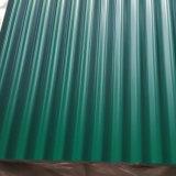 着色された電流を通された波形の鋼板屋根ふきシート