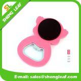 Kundenspezifischer weicher Belüftung-Gummikühlraum-Magnet-Flaschen-Öffner (SLF-BO006)