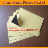 strato interno rigido del PVC di 0.5mm con il doppio pacchetto di carta giallo adesivo
