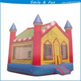 Castillo animoso del deporte inflable para el juguete de los cabritos