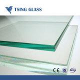 カスタム明確な組合せカラー平らな緩和された建物ガラス