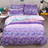 安い価格熱い販売の印刷されたパターンMicrofiberポリエステル羽毛布団カバー