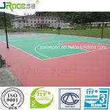広州の屋外のテニスコートのコーティングの床のマット