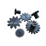 Roda dentada plástica de nylon fazendo à máquina feita sob encomenda da engrenagem da elevada precisão das peças