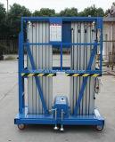 De hete Lift van het Platform van het Werk van de Mast van de Verkoop Hydraulische Draagbare Lucht