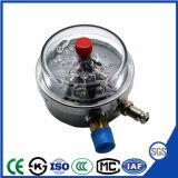 De elektrische Manometer van de Maat van de Druk van het Contact Schokbestendige met Goedgekeurd Ce