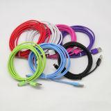 2m 3m de espesor colorido cable micro USB para Samsung