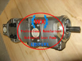 Usine~véritable Komatsu LW250L-1 Grue de la pompe hydraulique à engrenages Ass'Y : 705-52-30150 pièces de rechange