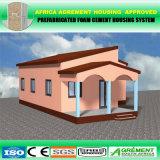 Camera prefabbricata del contenitore modulare di lusso prefabbricato con i comitati solari
