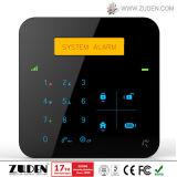 Система безопасности GSM беспроволочная домашняя с экраном кнопочной панели касания