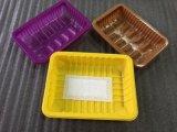 Vakuum gebildete Blase, die Großhandelsplastikbehälter-Frucht-Tellersegment verpackt, um Nahrung frisch zu halten