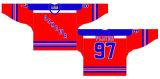 Casa dei General 1971-1984 di Oshawa della Lega di Hockey di Ontario/hokey ghiaccio personalizzati della strada Jersey