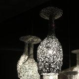 Weißes Aluminiumcup-hängende Lampe für die Gaststätte dekorativ