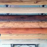 Asciugare le mattonelle di pavimento di lusso dell'interno posteriori di Lvt del vinile del PVC