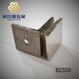 B2320 cuadrado de 90 grados de cristal de la Puerta de ducha cuarto de baño de Clip de pinza abrazadera de montaje de vidrio