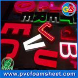 Лист PVC пены PVC неофициальных советников президента цены высокого качества дешевой расширенный доской