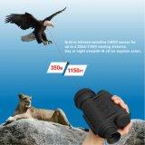 "6X50デジタルの1.5 "" TFT LCD 500MPの写真及び720pビデオが付いている赤外線夜間視界のMonocular"