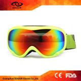 Les enfants de lunettes de ski à double lentille Compatible optique 100% UV Lunettes Anti-Fog Snowboard