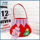 Мешок Non-Woven хозяйственной сумки мешка подарка конфеты Santa Claus рождества