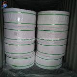 weißes Polypropylen gesponnener Beutel 60GSM in Rolls