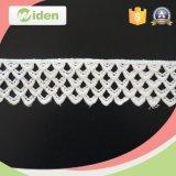 Cordón geométrico del producto químico del cordón del algodón soluble en agua 100