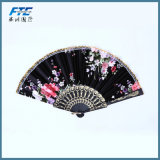 Вентиляторы руки верхнего бамбука повелительниц Japoneses способа Silk складывая