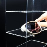 Шкаф стены индикации случая Eyewear полок Acrylic 5 установленный/свободно стоящий Eye-Glass