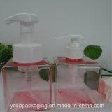 Kundenspezifische kosmetische PETG Plastikflasche 250ml