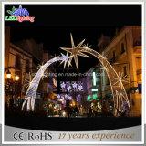 Im Freien weißes Motiv-Licht des Bogen-Dekoration-Feiertags-LED