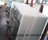 De aangemaakte Gelamineerde Rugplank van het Glas met het Ceramische Frame van de Fritte
