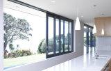 Protection contre le soleil vitres coulissantes en aluminium avec le verre trempé