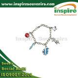 Ajustez l'ouverture du bracelet en métal de fantaisie pour les cadeaux de fille