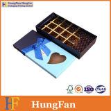 Rectángulo de regalo de empaquetado de papel de lujo de lujo del caramelo de chocolate de la categoría alimenticia