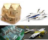 Modello di legno dell'aereo del modello di nave, tagliatrice del laser del CO2 del mestiere