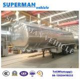 Light- топливозаправщик жидкости алюминиевого сплава обязанности 45m3