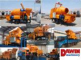 Pompe concrète diesel puissante avec la ligne de pompage en acier de la distribution de 100m en vente