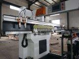 La construcción de Fabricación de carpintería de madera contrachapada Six-Row taladradora