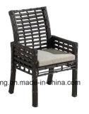 A mobília ao ar livre do jardim do Rattan redondo sintético grande ajustou-se com tabela & cadeira (YTA607&YTD607-1)