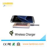 Pista de carga sin hilos rápidamente que carga los cargadores elegantes del teléfono de la estación para Samsung