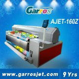 면 또는 실크 또는 캐시미어 천 etc.를 위한 잉크젯 프린터 디지털 직물 인쇄 기계를 구르는 잘 고속 8 색깔 Garros 롤