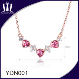 Hot Sale Elegant 925 Sterling Silver Rose Gold Pendant
