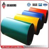 La couleur d'Ideabond a enduit la bobine en aluminium (PVDF/PE)