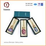 Rectángulo de regalo de empaquetado cosmético de la cartulina de lujo