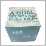 プラスチックDIYのおもちゃ50*50mmのプラスチック魔法の立方体は停止する