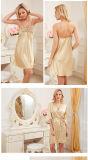 """Pijamas de seda Sy10308660 das mulheres """"sexy"""" do Nightwear da roupa de noite das senhoras da roupa interior"""
